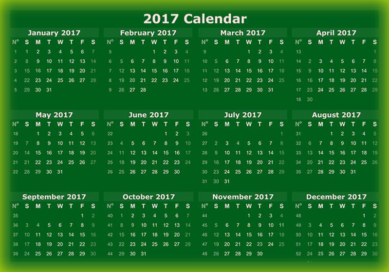 2017 Karennda