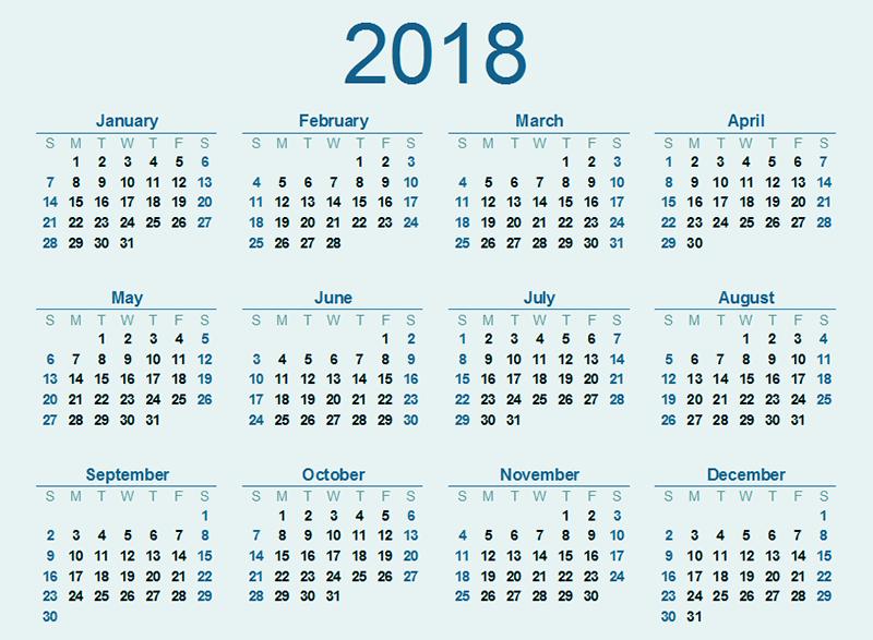 School Calendar 2017 2018 Calendar Download Pdf