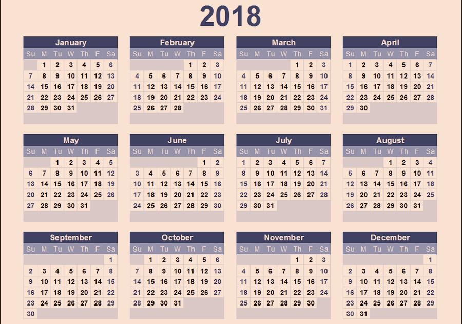 2018 u5e74 u30ab u30ec u30f3 u30c0 u30fc u5370 u5237 u7528